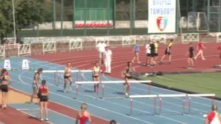 Чемпионат Тамбовской области по лёгкой атлетике 2015 г. Женщины 100м с/б