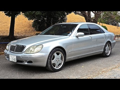 2001 Mercedes Benz S-Class Long S500L (Canada Import) Japan Auction Purchase Review