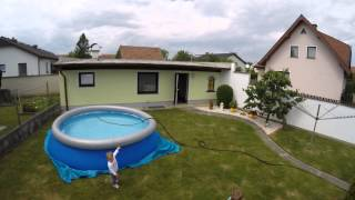 Bestway Fast Set Pool 366x91cm -  Set Up (Timelaps)(Showing a timelaps video for set up a Bestway Fast set Pool with diameter 366x91cm Find the Amazon link: Bestway Pool: http://amzn.to/1fd6GXJ Filmed with ..., 2015-06-01T20:50:10.000Z)