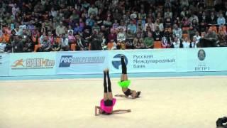 Художественная гимнастика. Дина и Арина Аверины(, 2013-01-17T15:42:01.000Z)