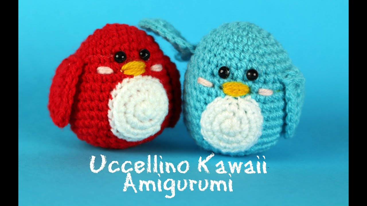 World Of Amigurumi : Uccellino Kawaii Amigurumi World Of Amigurumi - YouTube