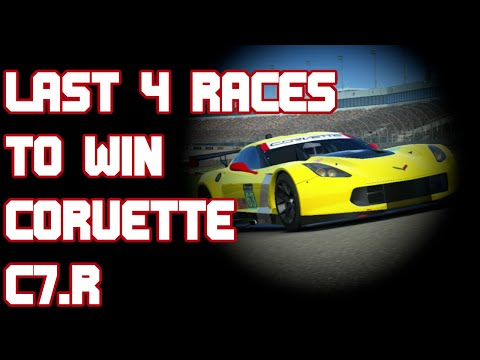 Real Racing 3 Corvette C7.R Last Few Races To Win Gameplay Championship RR3