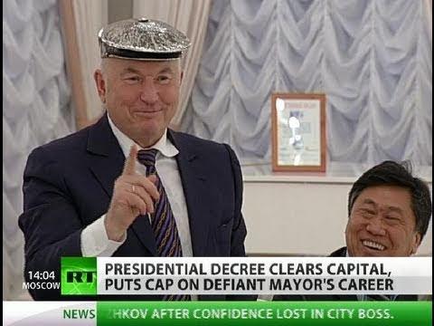 Faithless: Medvedev sacks Moscow mayor Luzhkov