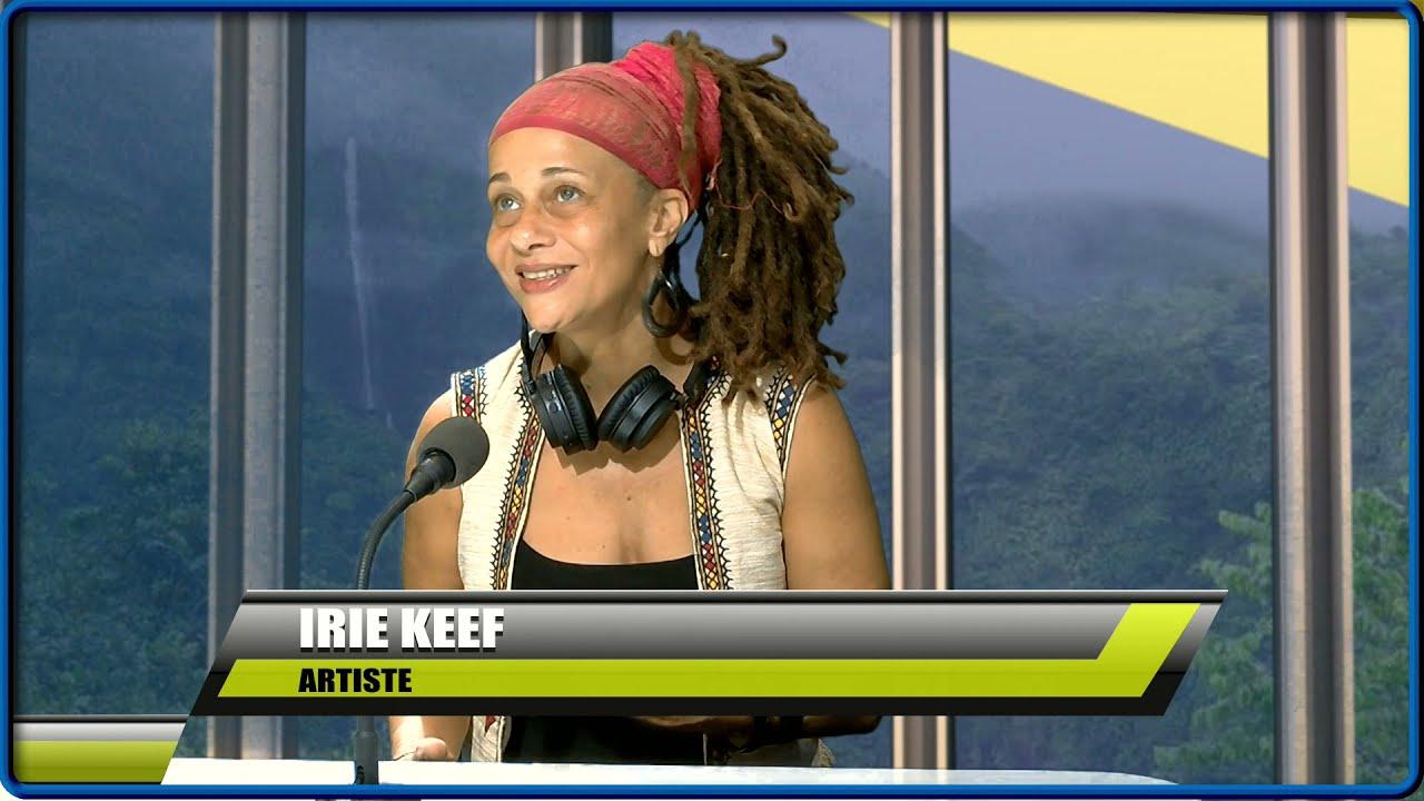 L'artiste IRIE KEEF est l'invitée de Mandy sur ETV