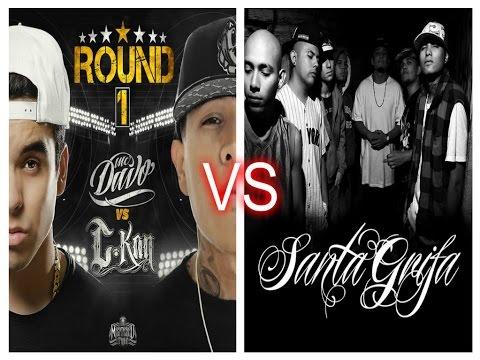 C-Kan y MC Davo vs Santa Grifa