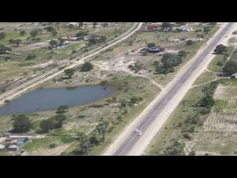 Ondangwa airport landing