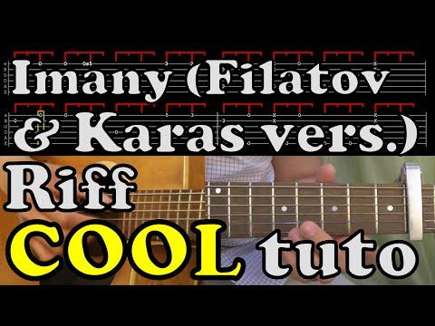 Imany - Don't be so shy - Filatov & Karas version - riff en fingerpicking - tab