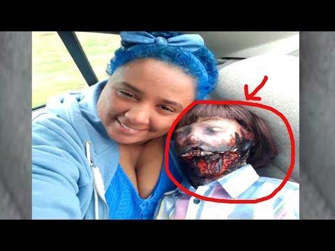 Девушка вышла замуж за Зомби-Куклу !!!