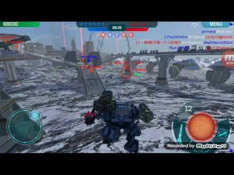 WWR walking war robot Golem+ECC Thunder + SMS Hydra+AT Spinal