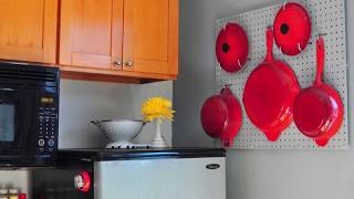 Transform Kitchen Storage Options with Trendy Pegboard Ideas