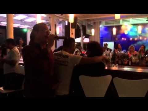 Midweek Karaoke Fun in Paramaribo
