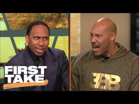 LaVar Ball & Stephen A. have an intense shouting match | First Take