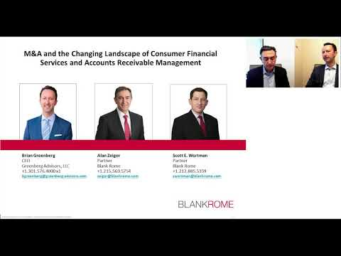 M&A and the Changing Landscape of Accounts Receivable Management and Consumer Financial Services