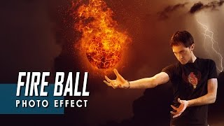 This video will show you, how to make fire ball manipulation effect...