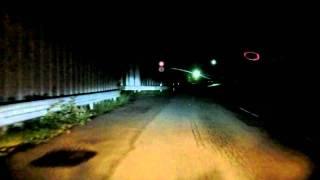 山梨県廃隧道を目指して(雛鶴隧道・都留市側)2011年9月25日