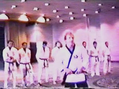 Chuck Norris and the Gracies - UFAF Convention - 1988