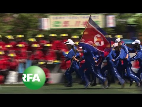 North Korean Workers Celebrate May Day with Sports Games | Radio Free Asia (RFA)