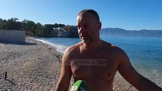 Plazh në janar/ Vlorë, 52-vjeçari nga Fieri lahet në det