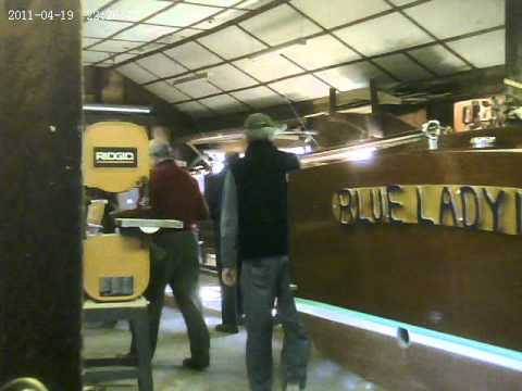 `dad put ribs new boatdad building anew boat 2011 8o+year old
