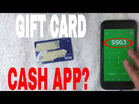 ✅  Can You Use Visa Debit Gift Card On Cash App 🔴