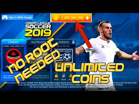 Dream League Soccer 2018 Hack Apk & Mod with Unlimited Coins Cheat