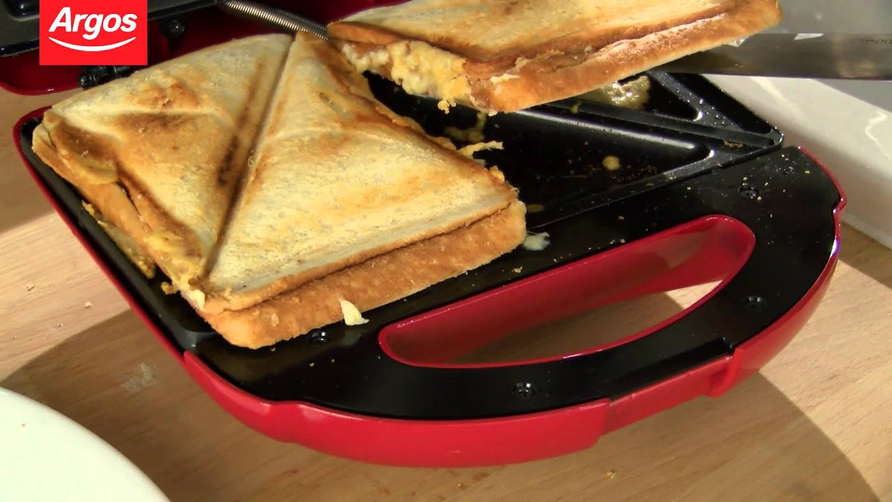 ColourMatch 2 Slice Poppy Red Sandwich Toaster Review by ...