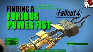Fallout 4 - Finding the Furious Power Fist (Melee Weapon: Furios Power Fist Location)