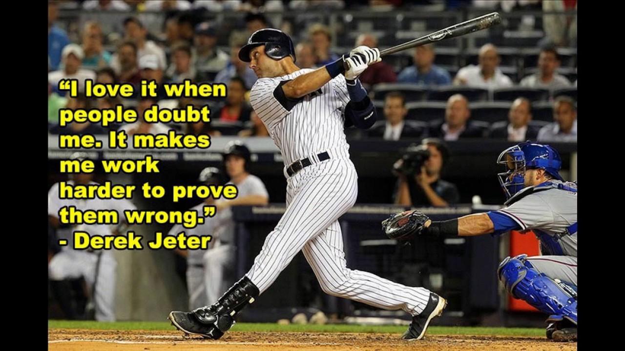 Baseball Love Quotes 10 Inspiring Baseball Quotes  Youtube