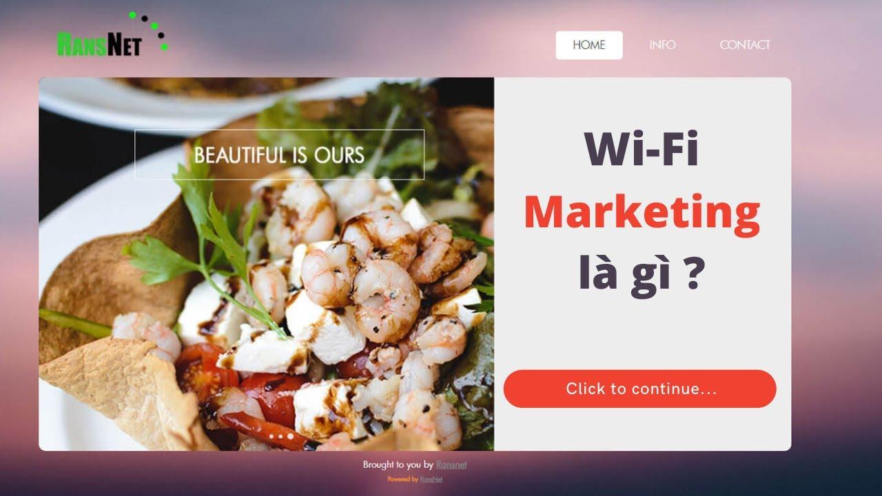 WiFi Marketing là gì ?