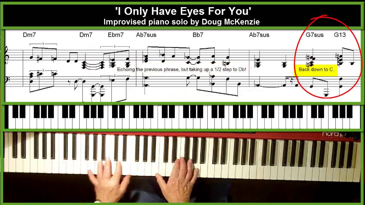 i only have eyes for you piano pdf