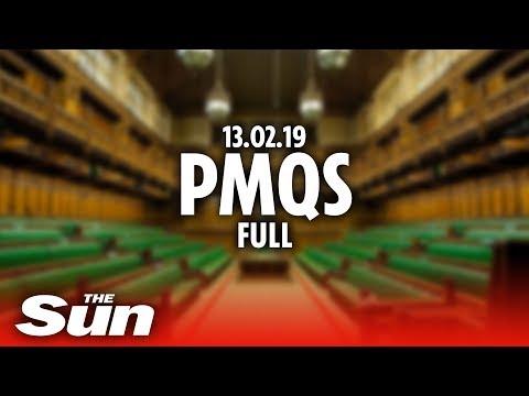 PMQs 13.02.19 Full