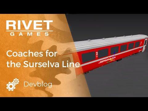 Devblog Video: Building Additional Coaches For The Surselva Line For Train Simulator.
