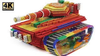 DIY - How To Make Tank From Magnetic Balls and Aquarium (Satisfying) | Magnet World Series