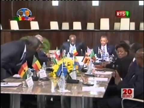President Barack Obama a la court Supreme du Senegal