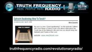 16 TFR - Revolutionary Radio Project with Zach Bauer: Ephraim Awakening