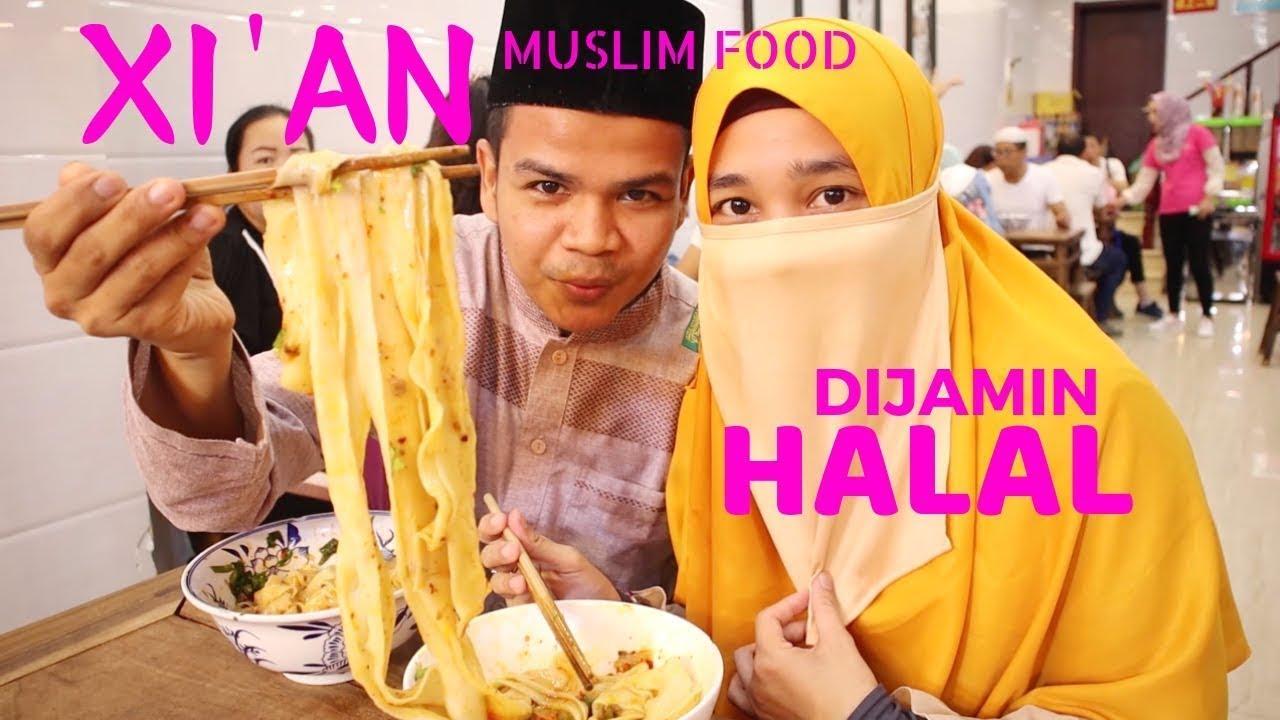 Surga Makanan Halal Di China Xian Muslim Street Food Youtube