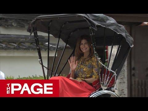 G20参加のファーストレディーらは京都を訪問 東福寺で昼食会(2019年6月28日)