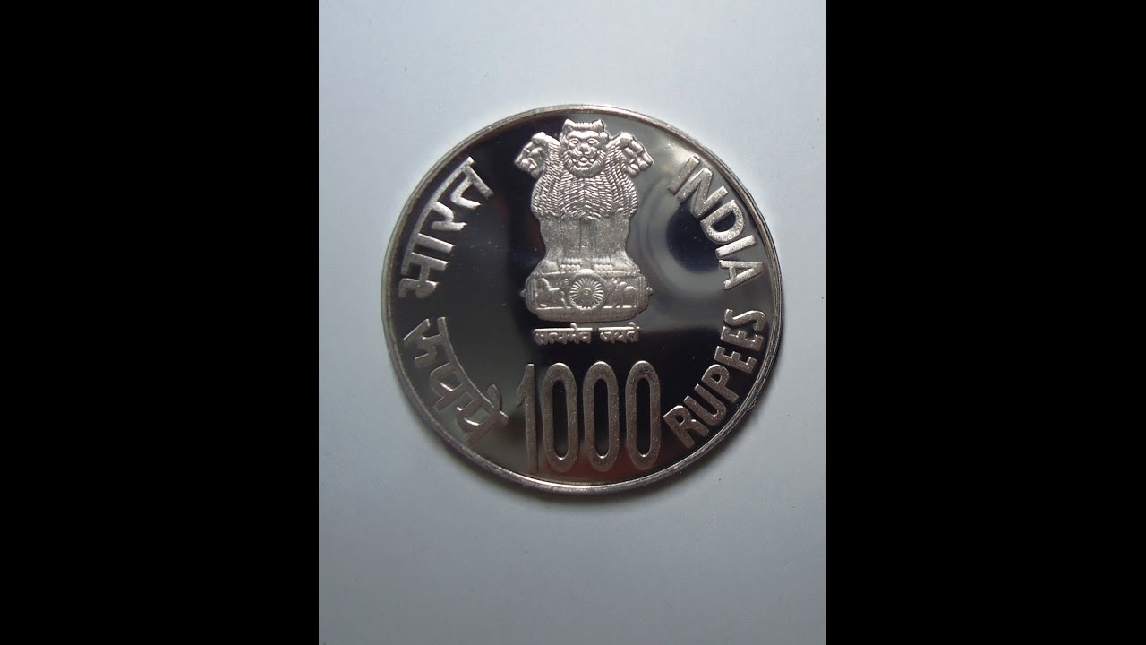 1000 rs Coin / 100 rup... Indian Rupees Coins 1000