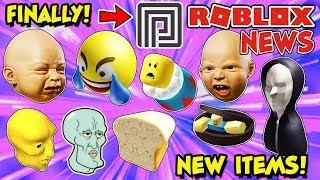 ROBLOX NEWS: New Creepy Items, FUNNY UGC Suggestions, Leaks, Predictions & I Finally Got Premium!
