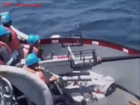 """Philippine Navy """"retired"""" Ships Live Firing"""