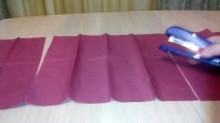 Вязание: Жилетка-накидка из трех квадратов