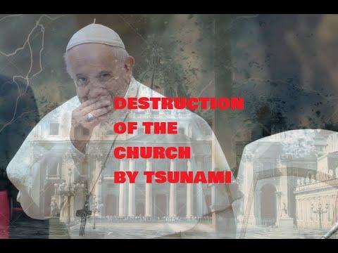 Destruction of Church, Crown & Coin, Vatican Tsunami, The new King (Harry) Atlantic & Indian Tsunami
