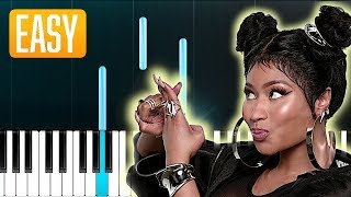 Nicki Minaj - Hard White (100% EASY PIANO TUTORIAL_ Video