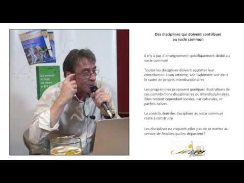 Didier Delignières : Bistrot pédagogique « Nouveaux programmes : une nouvelle EPS ? » – Partie 1/5