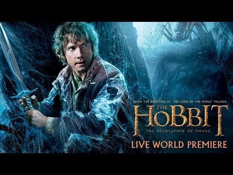 The Hobbit: The Desolation of Smaug - LIVE World Premiere