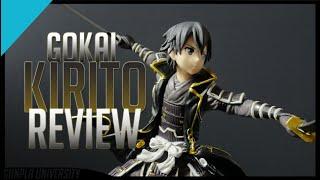 Gokai Kirito Figure Review   Sword Art Online Code Register