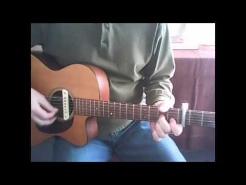 Old Rugged Cross -  solo acoustic guitar