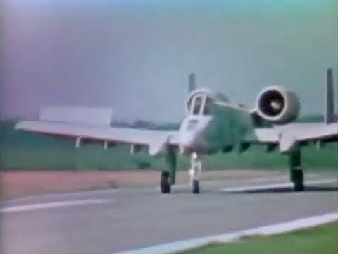 A-10 Thunderbolt - Warthog Tank-Buster in Action