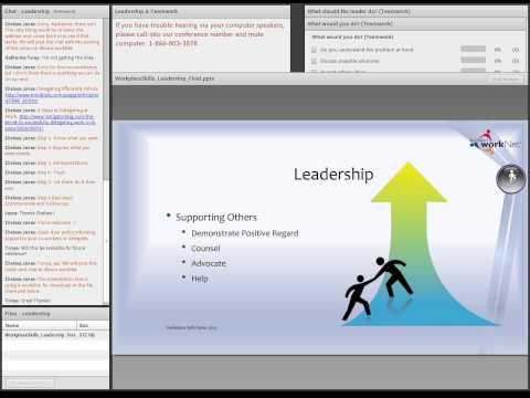 Soft Skills Webinar: Leadership & Teamwork