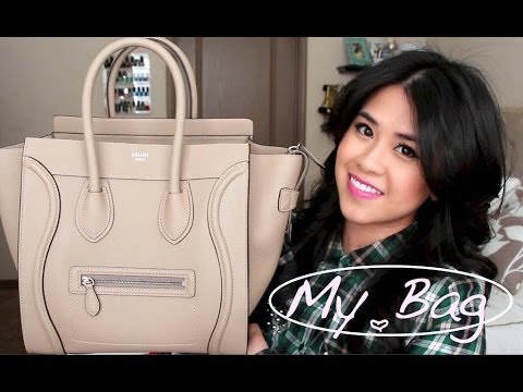 What's in My Bag??? (Celine Mini Luggage- Dune)